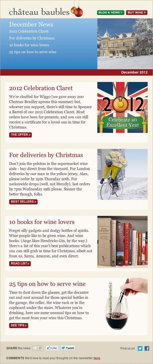 December news